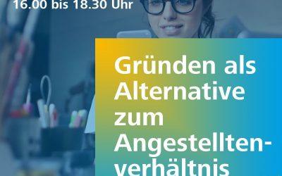 Gründen vs. Angestellt? Ein Workshop in Zusammenarbeit mit dem KWT Campus der Universität  Saarbrücken